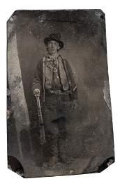 279: Billy the Kid Tintype and Dan Dedrich Lot