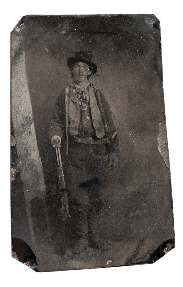 279: Billy the Kid Tintype and Dan Dedrich Lot