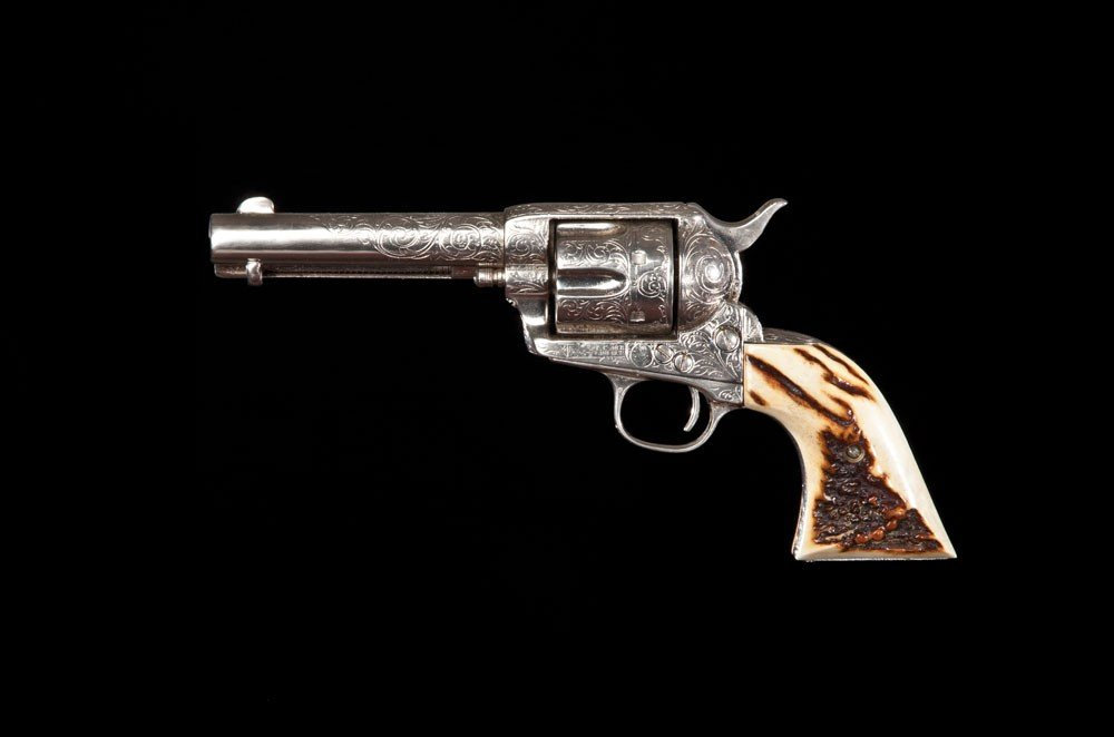 286: Engraved Colt Single Action Revolver