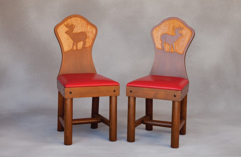 6: New West Chairs and Table