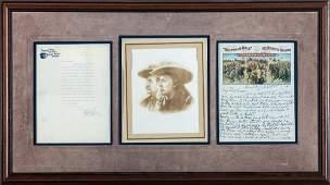 Buffalo Bill Cody & Pawnee Bill Gordon Letters