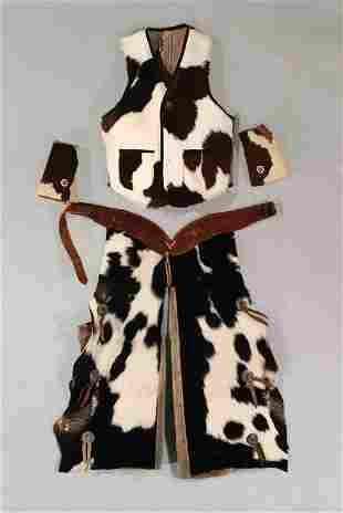 4-Piece Child's Cowhide Outfit