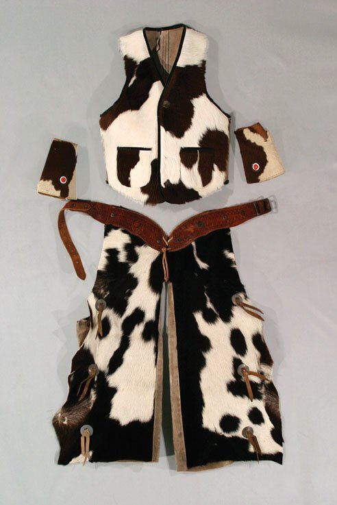 2: 4-Piece Child's Cowhide Outfit