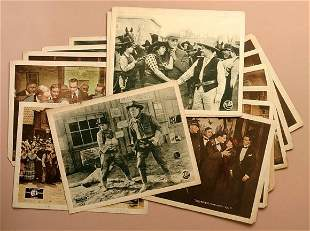 Collection of 14 early Lobby cards