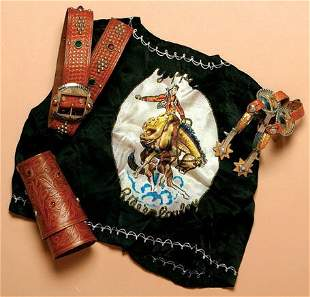 """Great kid's """"Cowboy or Cowgirl"""" OUTFIT."""