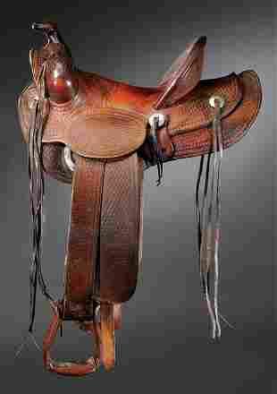 F. A. Meanea , Cheyenne, Wyo SADDLE