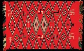 226: Exceptionally  Navajo Germantown Blanket