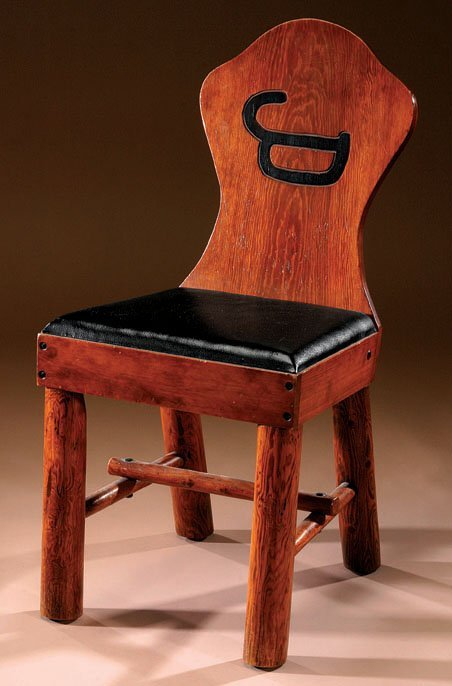 435: Molesworth Keyhole Chair