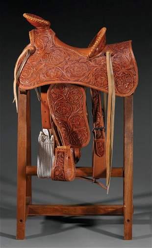Half scale Saddle
