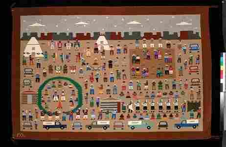 471: Navajo Rug