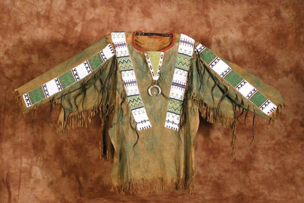 270: Sioux Beaded and Fringed Man's Shirt