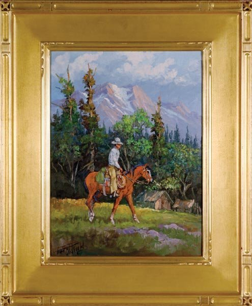 526: Fred Oldfield (b. 1918) In the High Country