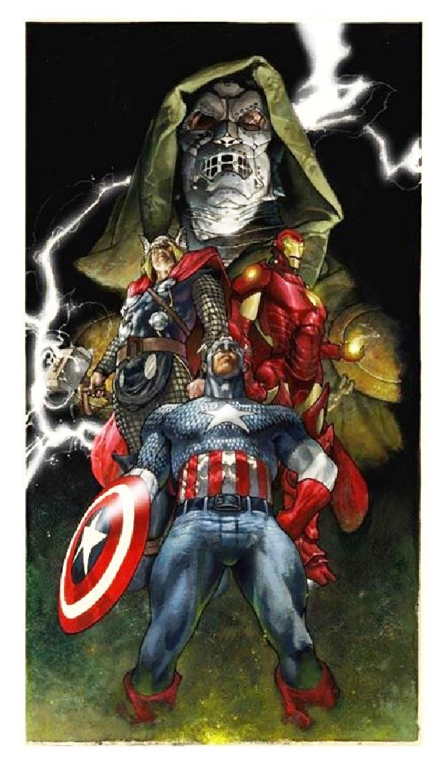 STAN  LEE Title: UNITE GICLEE ON CANVAS