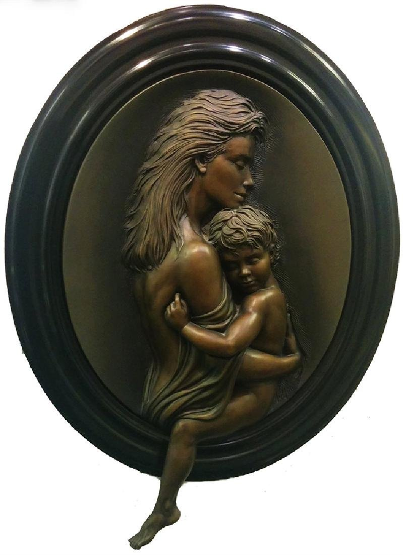 BILL MACK Title: CHERISH BONDED BRONZE