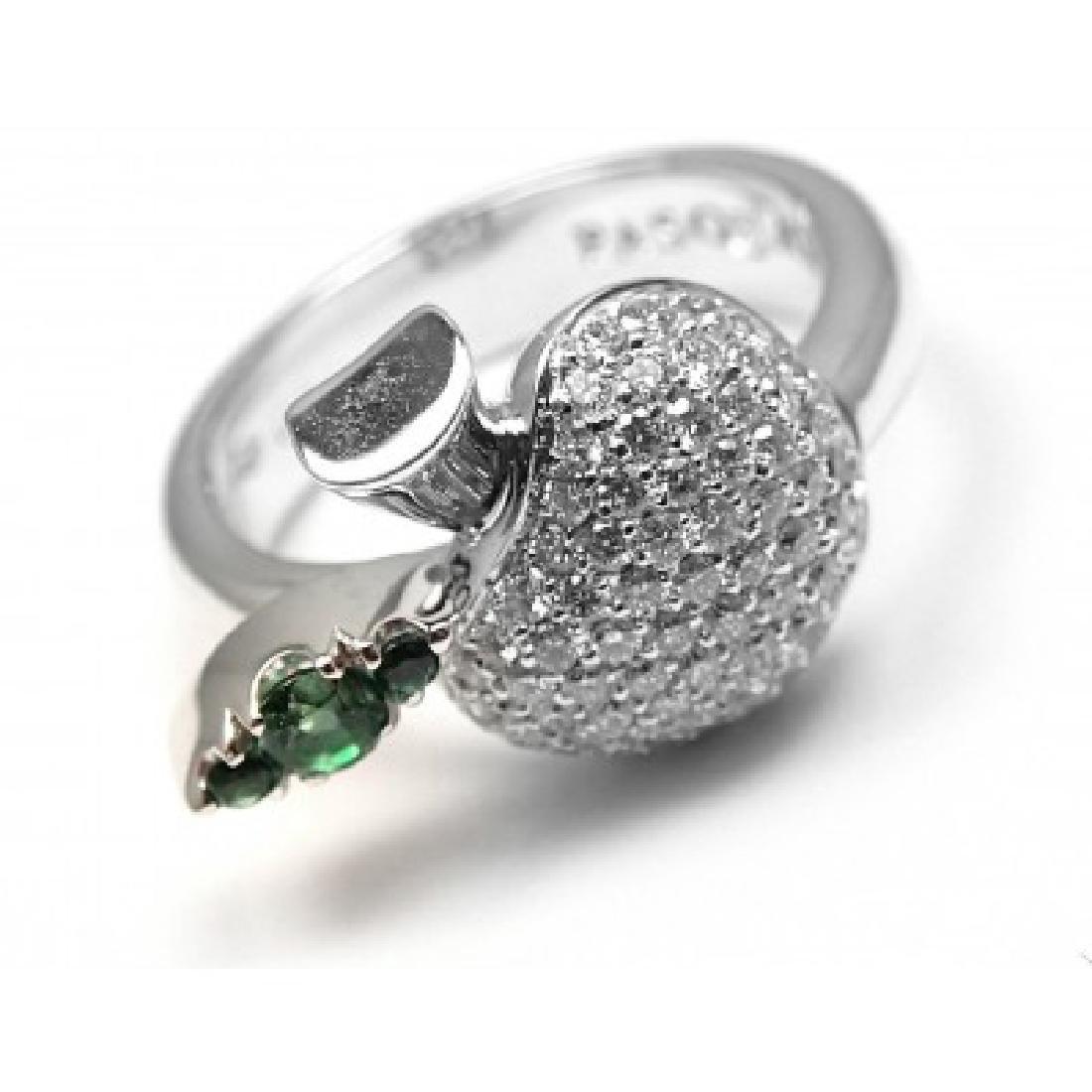 PASQUALE BRUNI 18K APPLE DIAMOND TENTAZIONE RING