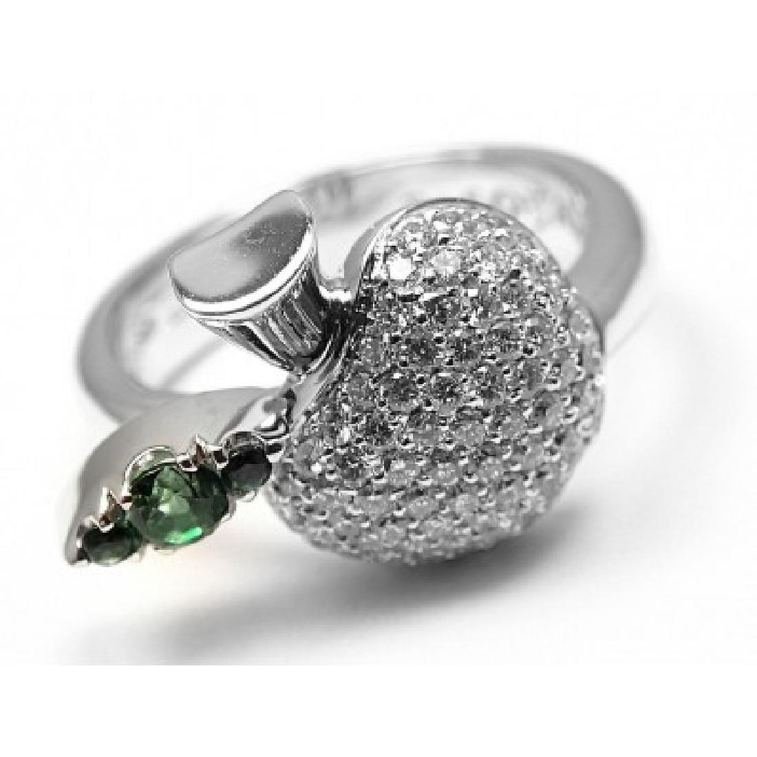 PASQUALE BRUNI 18K APPLE DIAMOND TENTAZIONE RING - 6
