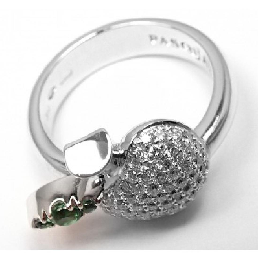 PASQUALE BRUNI 18K APPLE DIAMOND TENTAZIONE RING - 7