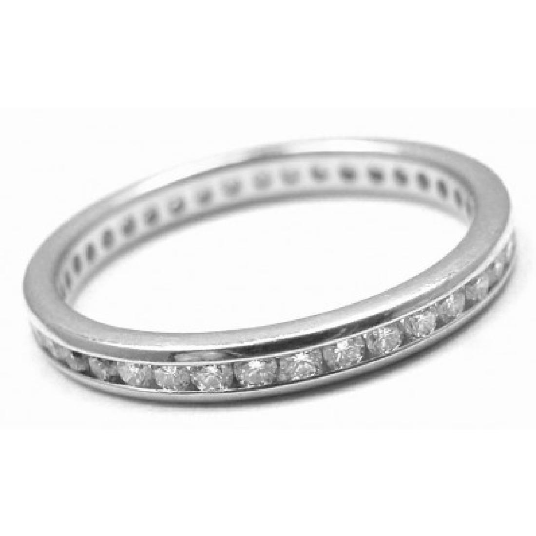 VERDURA PLATINUM DIAMOND BAND RING