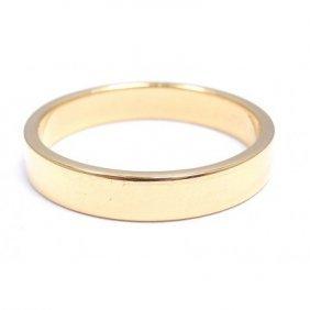 TIFFANY & CO. 18K YELLOW GOLD WEDDING BAND RING