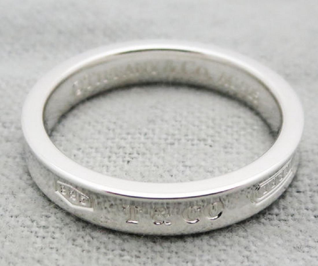 073fff72c Tiffany 1837 narrow ring in sterling silver Size 4.5 - Apr 4, 2017 ...