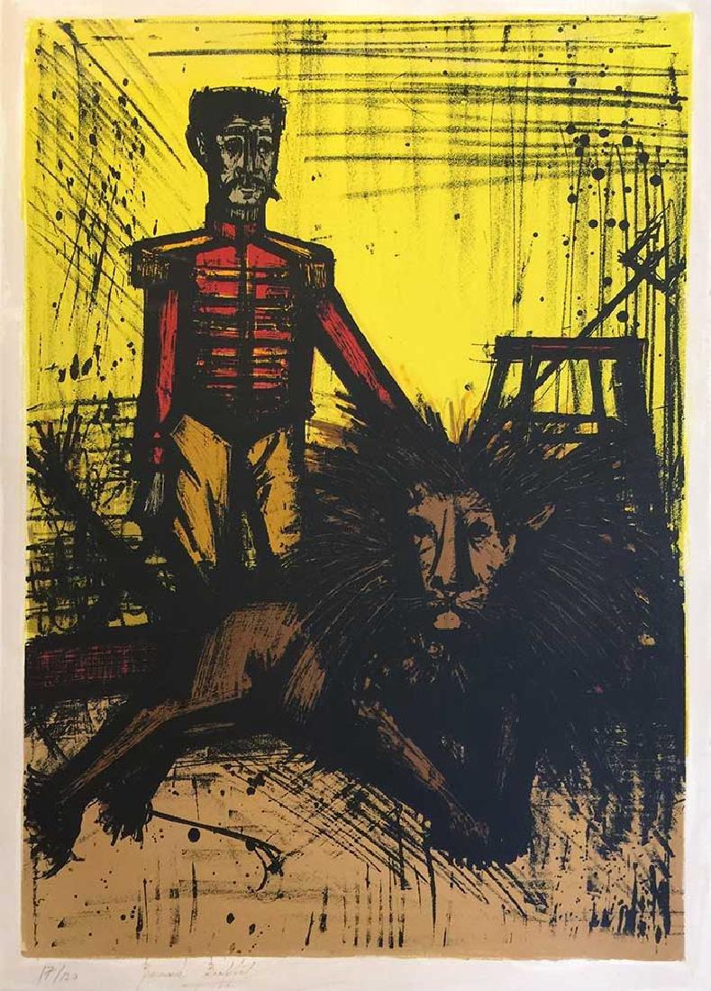 BERNARD  BUFFET Title: THE LION TAMER (LE DOMPTEUR)