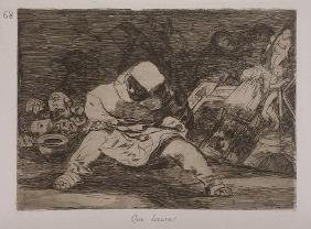 FRANCISCO GOYA Title: QUE LOCURA ETCHING