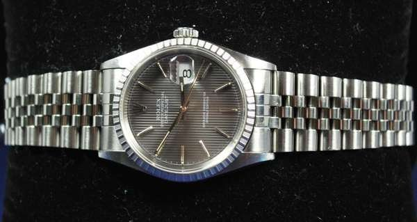 26: MENS S/S ROLEX DATEJUST
