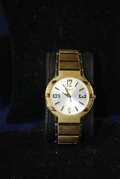 26: MENS 18KT Y.G. PIAGET POLO AUTOMATIC