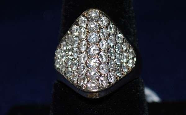 10: 14KT Y.G. 2.00CT DIAMOND RING