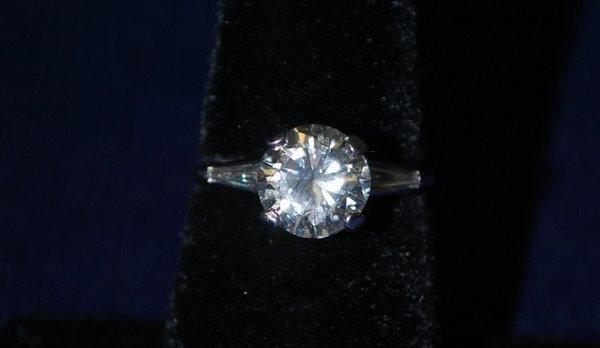 8: PLATINUM 2.20CT GIA CERTIFIED DIAMOND RING