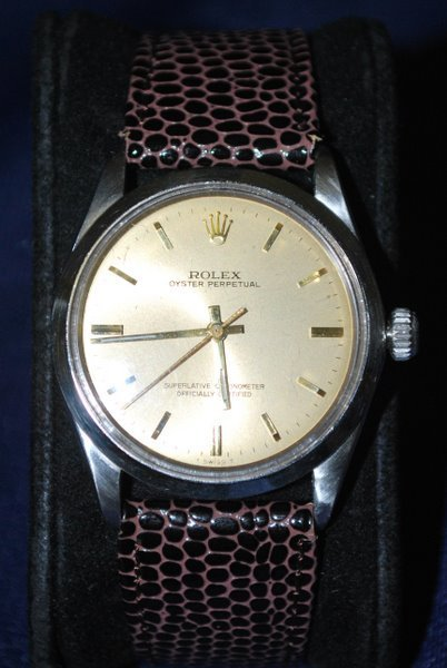 16: MENS S/S/ ROLEX OYSTER PERPETUAL