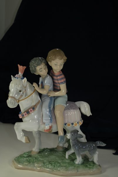 22: LLADRO PONY RIDE