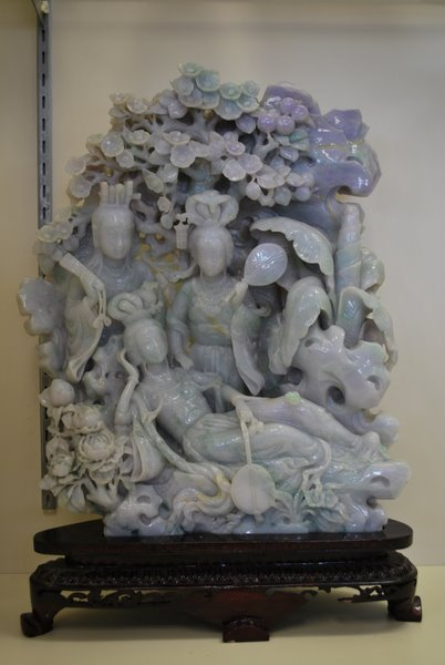 50: LARGE CARVED JADE