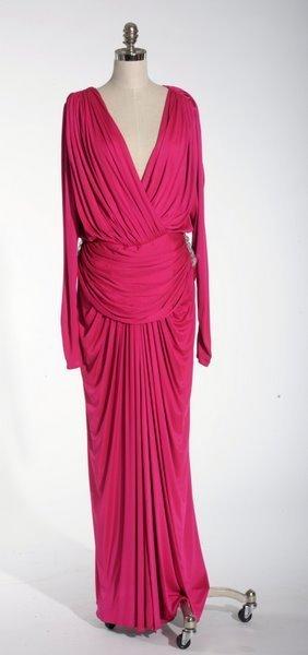17: VINTAGE 1980'S LILLIE RUBIN PINK DRESS