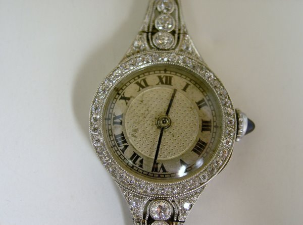 3: PLATINUM EDWARDIAN DIAMOND WATCH
