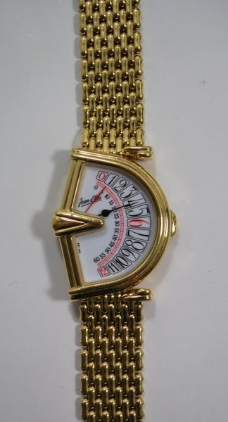 3: UNISEX G.PLATED JEAN D'EVE WATCH