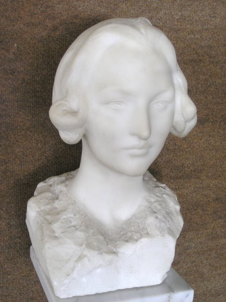 6: MARBLE BUST