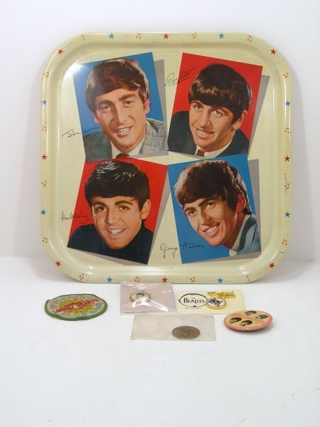 18: BEATLES 7 PC. LOT