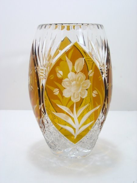 22: ART GLASS VASE