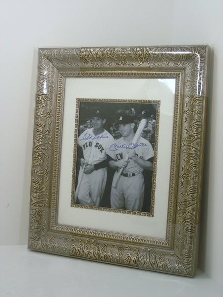 189: WILLIAMS AND MANTLE PHOTO