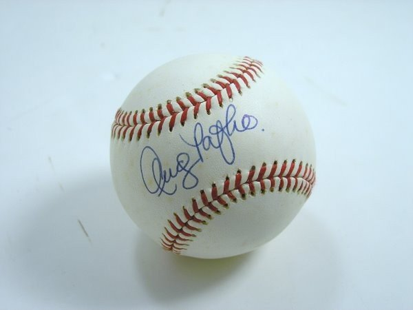 6: ANDY PAFKO SIGNED BASEBALL