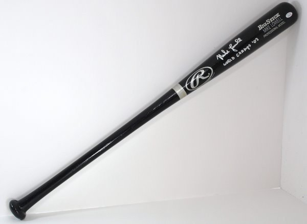 18: FLORIDA MARLINS MIKE LOWELL BAT
