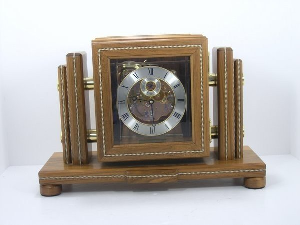 19: FRANZ HERMLE MANTLE CLOCK