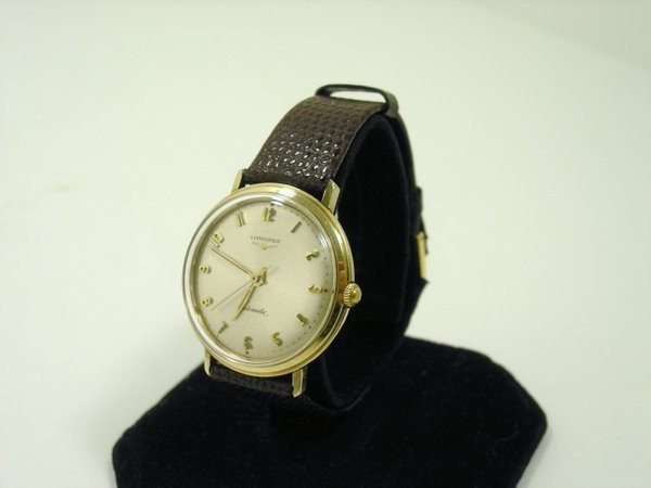 7: LONGINES AUTOMATIC GOLD FILLED 1950'S