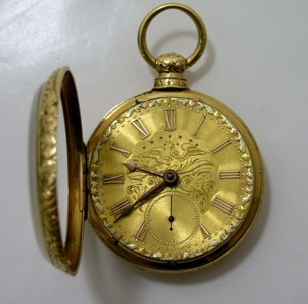 18: 18KT POCKETWATCH EARLY 1900'S