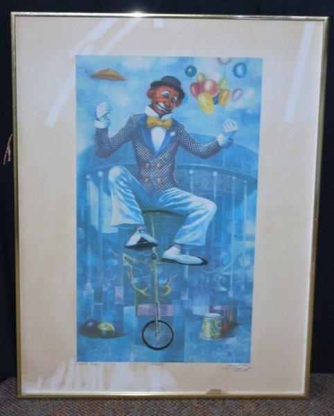 21: LOT OF 3 GEORGE RUSSIN LITHO'S