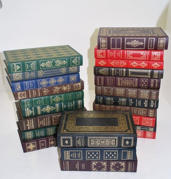 22: LOT OF 23 CLASSIC BOOKS FROM THE FRANKLIN LIBRARY