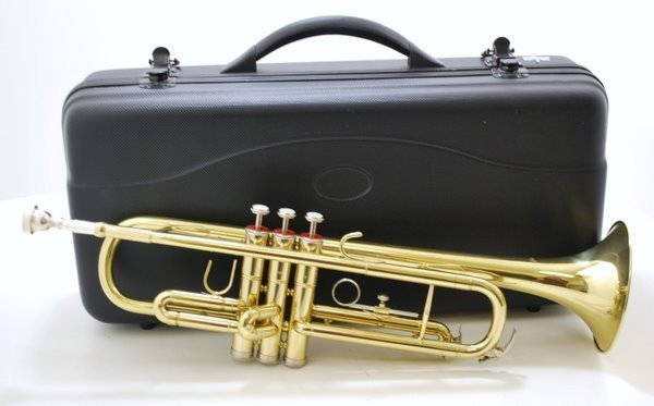 23: BESTLER TRUMPET WITH MOUTHPIECE AND HARDCASE