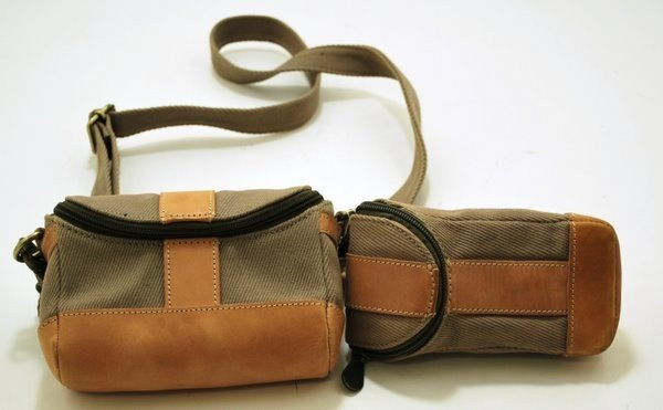 24: PAIR OF SMALL CARRY BAGS BY LEVENGER