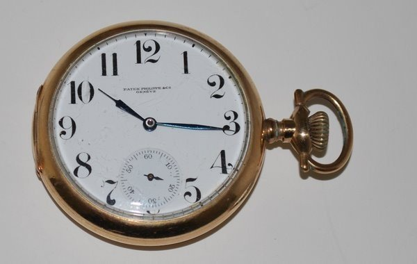 126: PATEK PHILLIPE POCKET WATCH